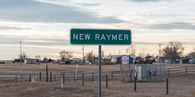image of town of New Raymer, CO