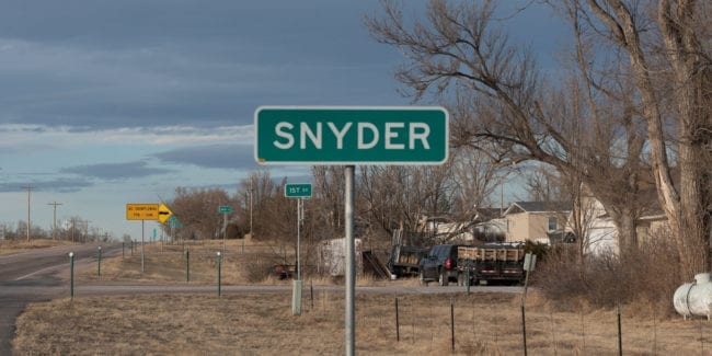 image of Snyder, CO