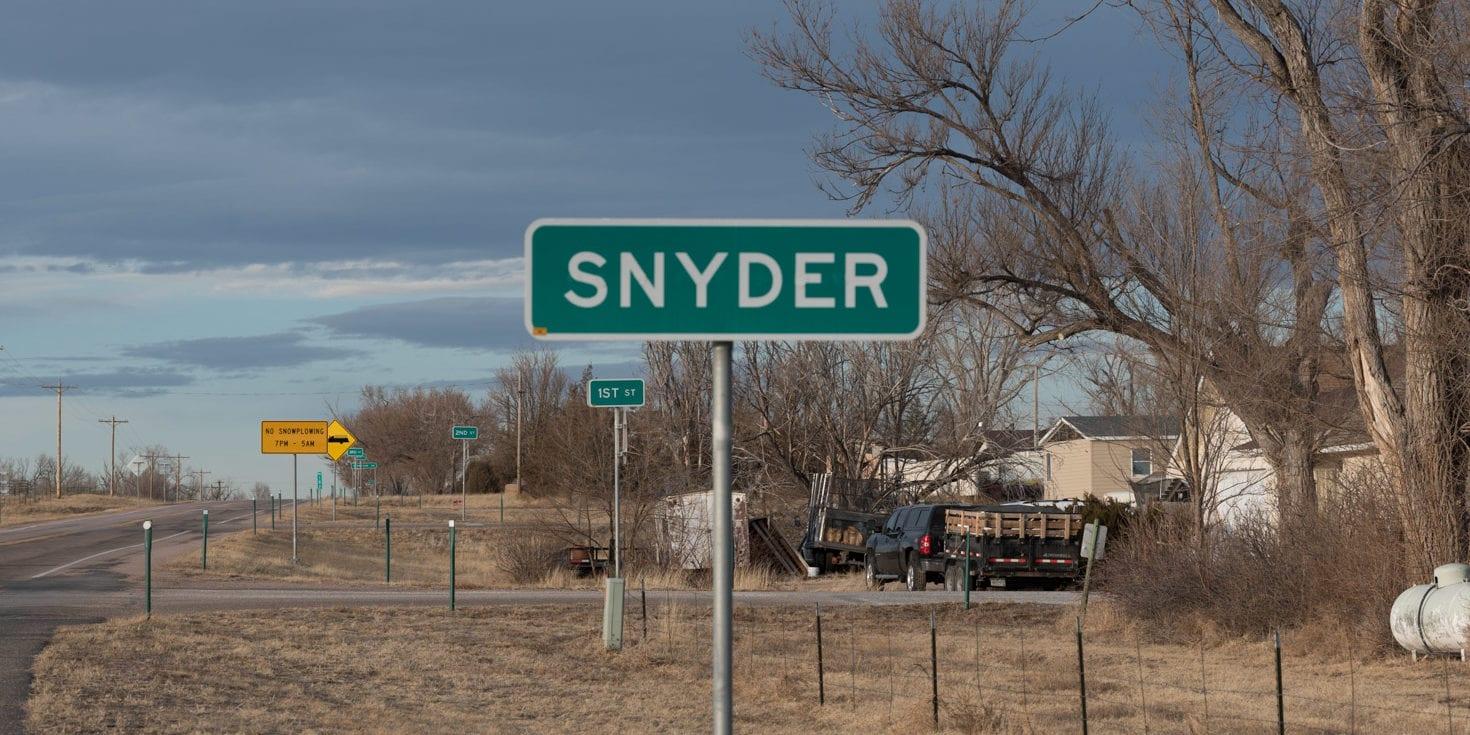 image of Snyder, CO