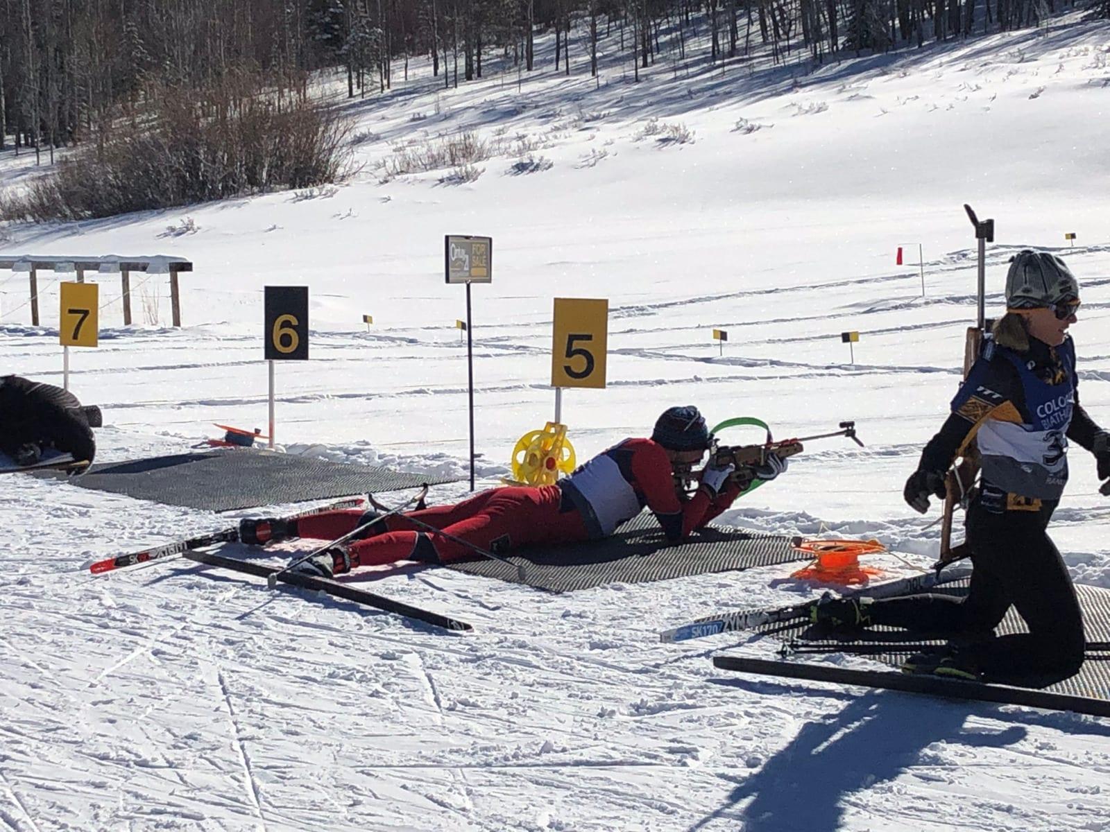 Colorado Biathlon Snow Mountain Ranch Rifle Shooting