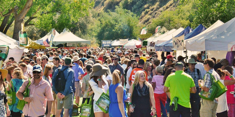 Colorado Mountain Winefest Riverbend Park Palisade CO