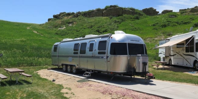 Airstream water hook up