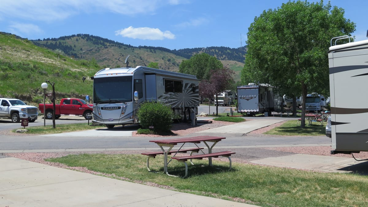 Dakota Ridge RV Park Campground Golden CO