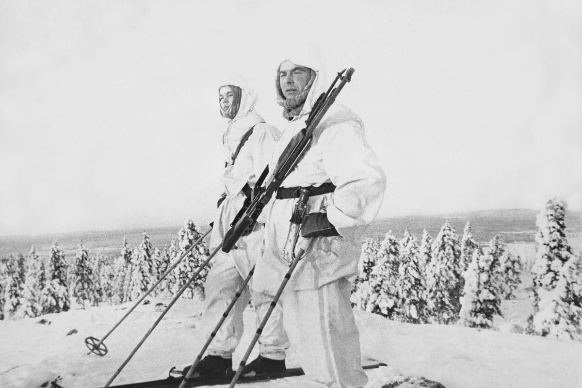 Biathlon History Finnish Ski Soldiers