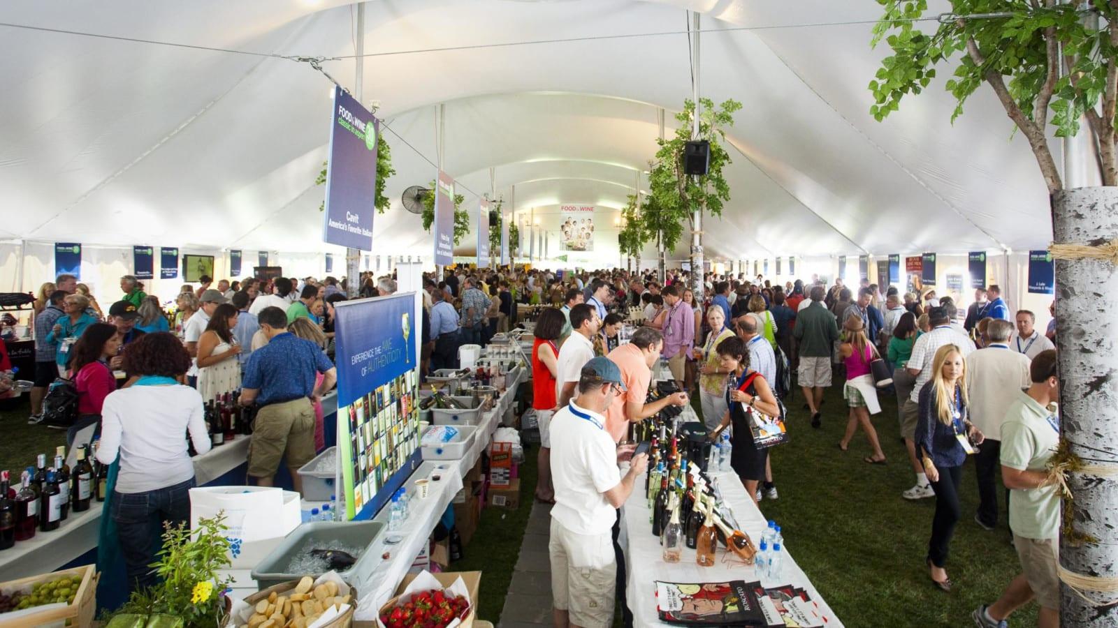 Food Wine Classic Aspen Indoor Tent
