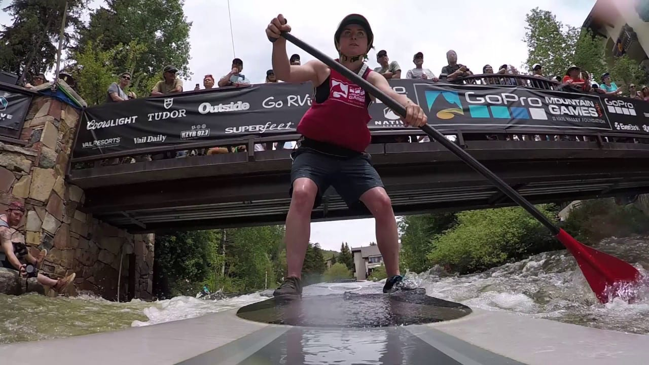 GoPro Mountain Games Vail SUP Standup Paddle Boarding