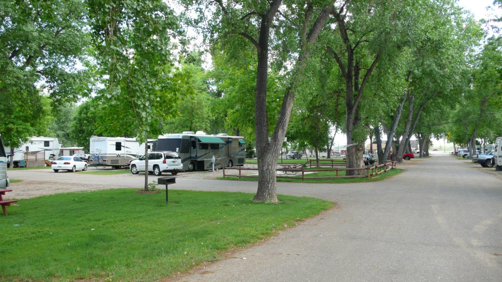 Loveland RV Resort Campground CO Campers