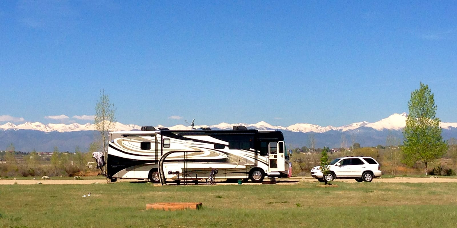 St Vrain State Park Firestone CO Campground RV