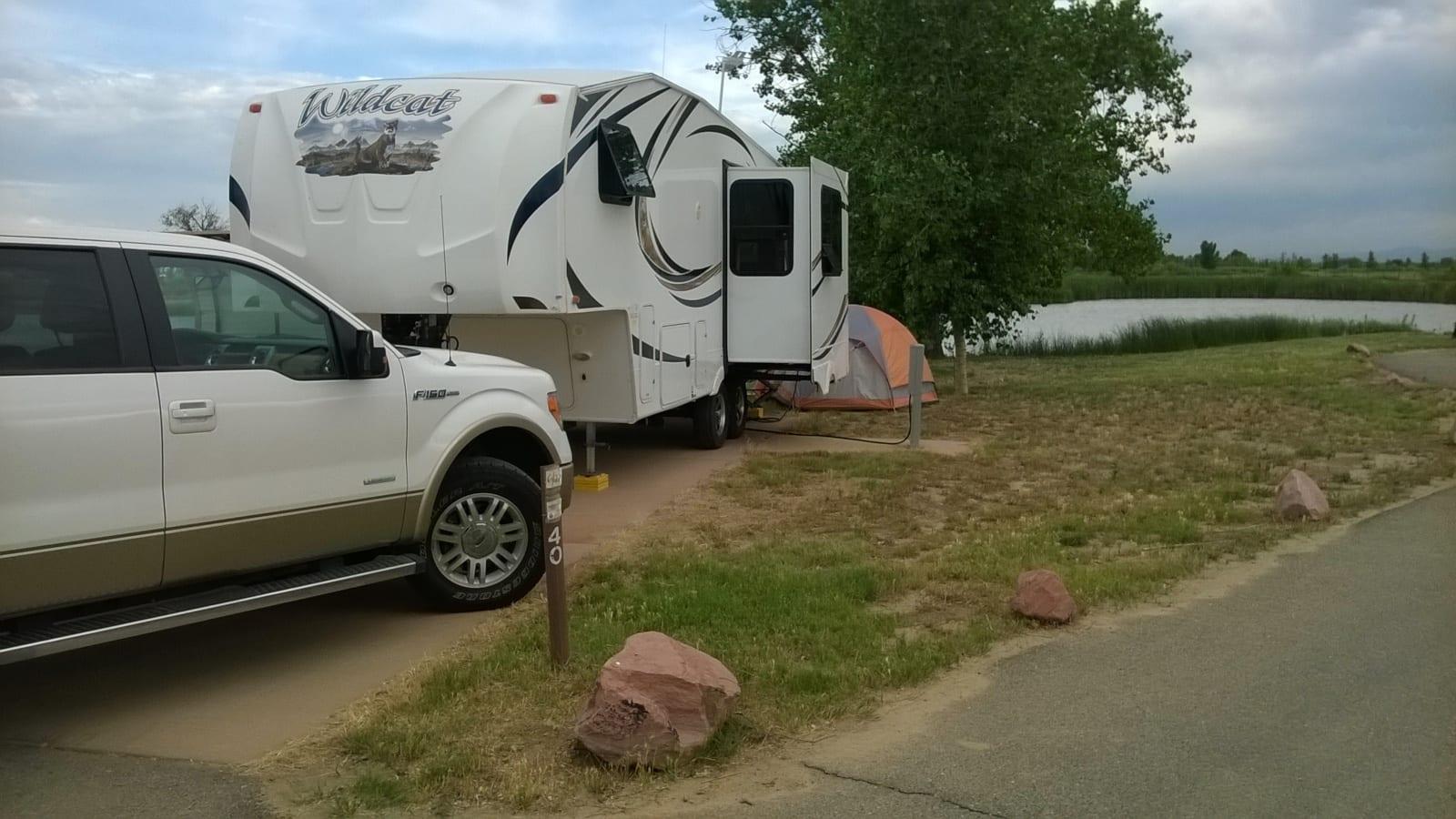 St Vrain State Park Firestone CO RV Campground