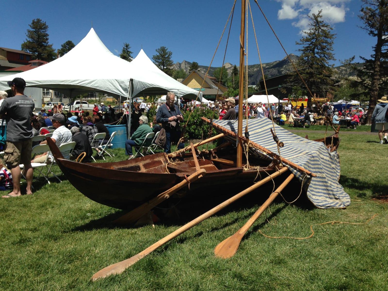 Scandinavian Midsummer Festival Estes Park Ship