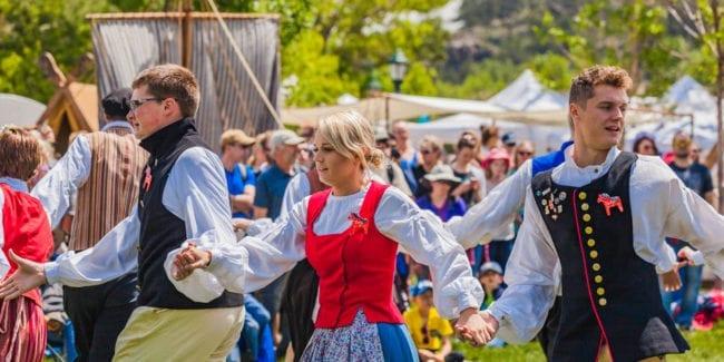 Scandinavian Midsummer Festival Estes Park Dancers