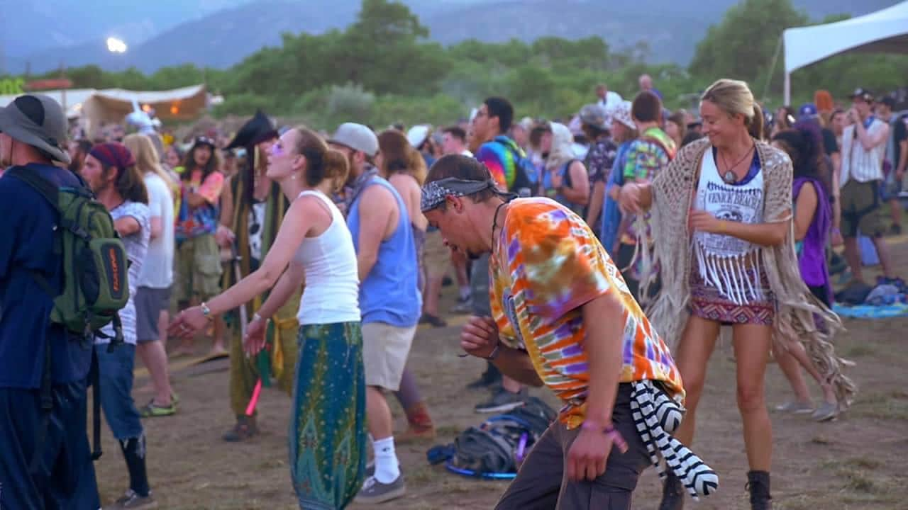 Sonic Bloom Festival Rye Colorado Concert Dancers