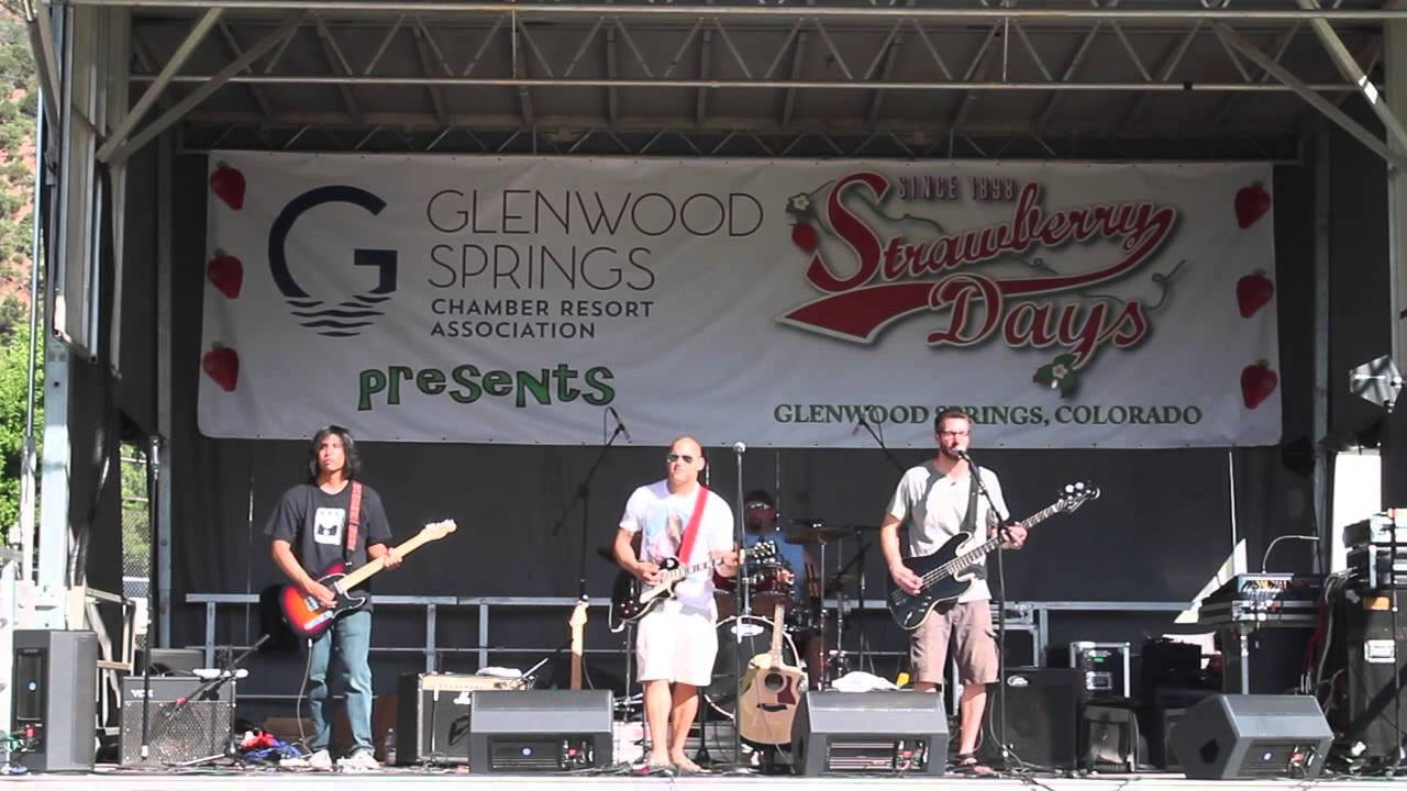 Strawberry Days Festival Concert Live Music Glenwood Springs