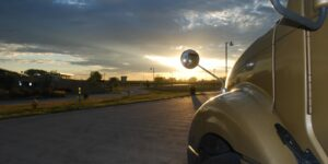 Truck Rest Stops Colorado I-25 North Fort Collins Sunrise
