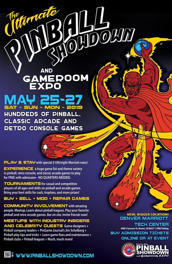 Ultimate Pinball Showdown Gameroom Expo Denver
