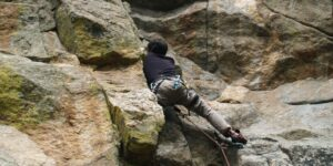 image of climbing in Boulder Canyon