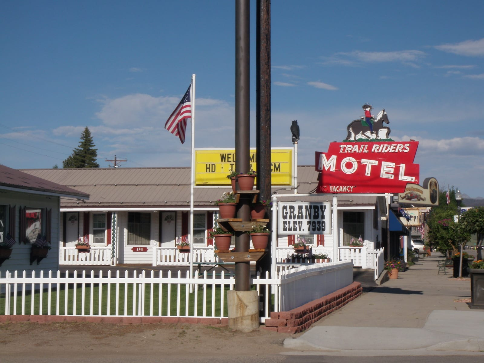 Trail Riders Motel, Colorado