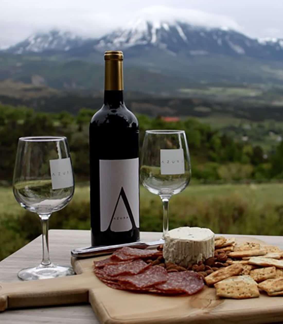 Azura Cellars Wine Tasting Paonia CO
