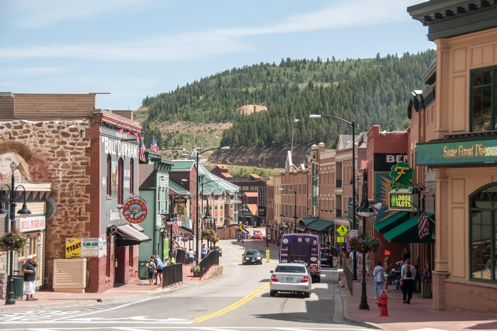 Colorado Casinos Black Hawk Main Street