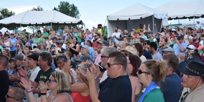 Colorado Irish Festival Littleton Clement Park Crowd