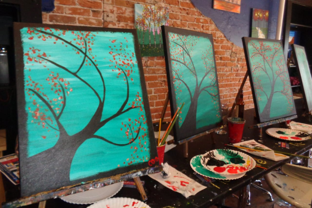 Fort Collins Date Idea Pinot's Palette Paintings