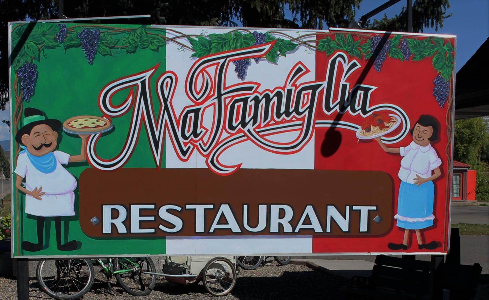 Meeker CO Ma Famiglia Restaurant