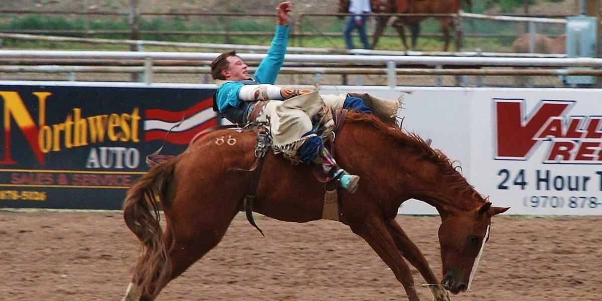 Meeker Range Call Rodeo Cowboy