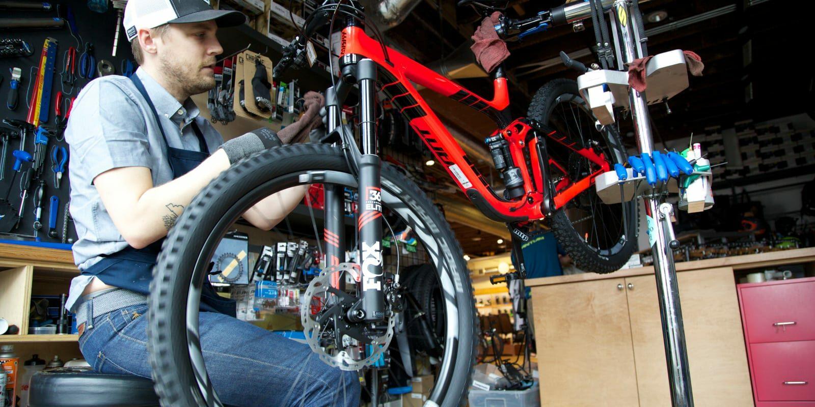 Mountain Bike Tune-Up Service Denver Colorado