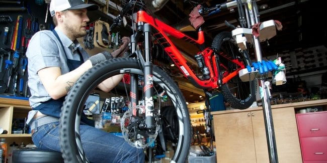 Mountain Bike Tune-Up Service Denver Colorado