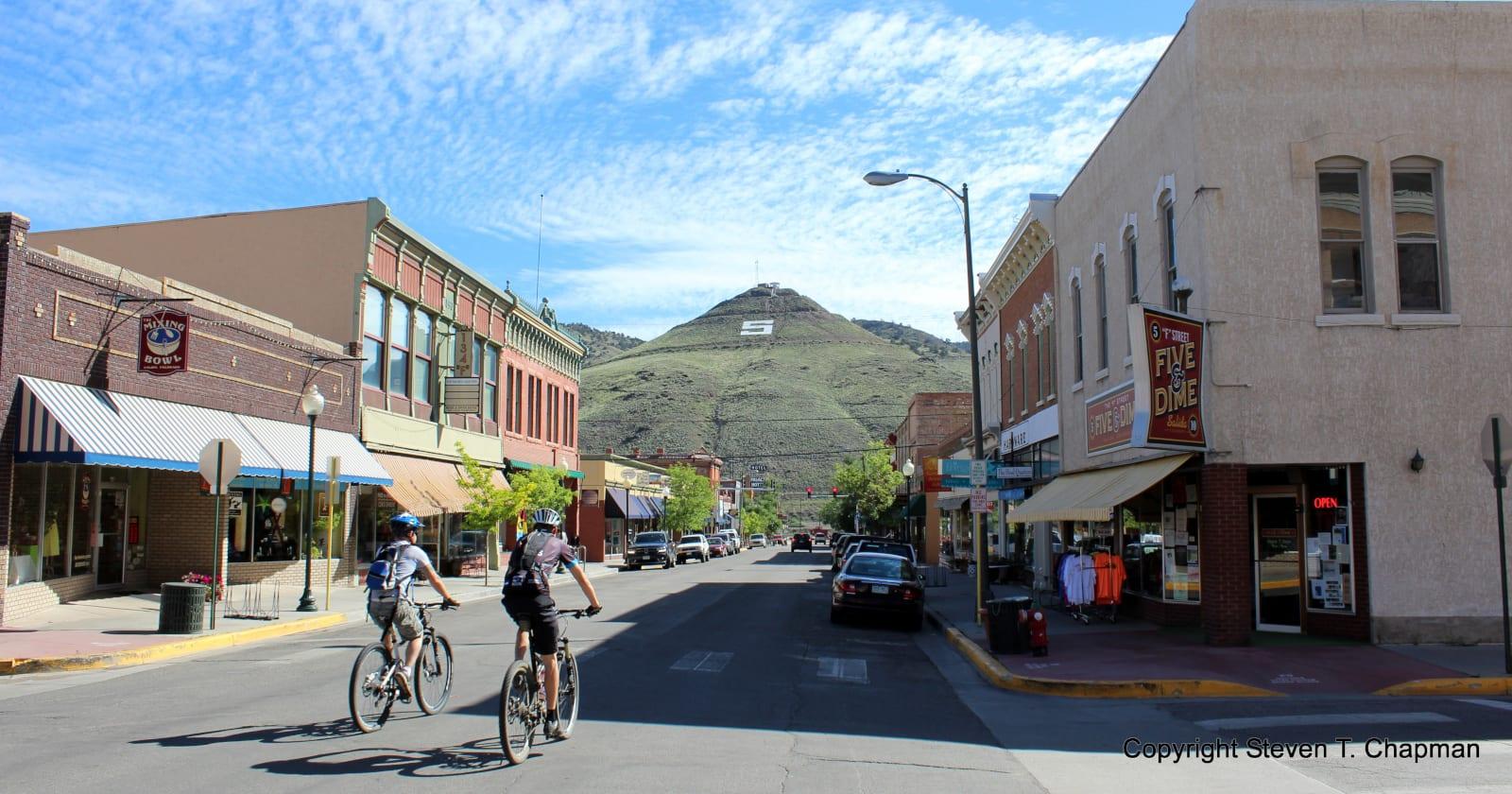 Salida Walking Tours Downtown Bikers