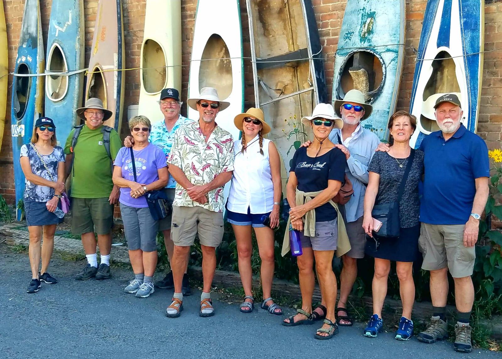 Salida Walking Tours Historic Downtown Boats