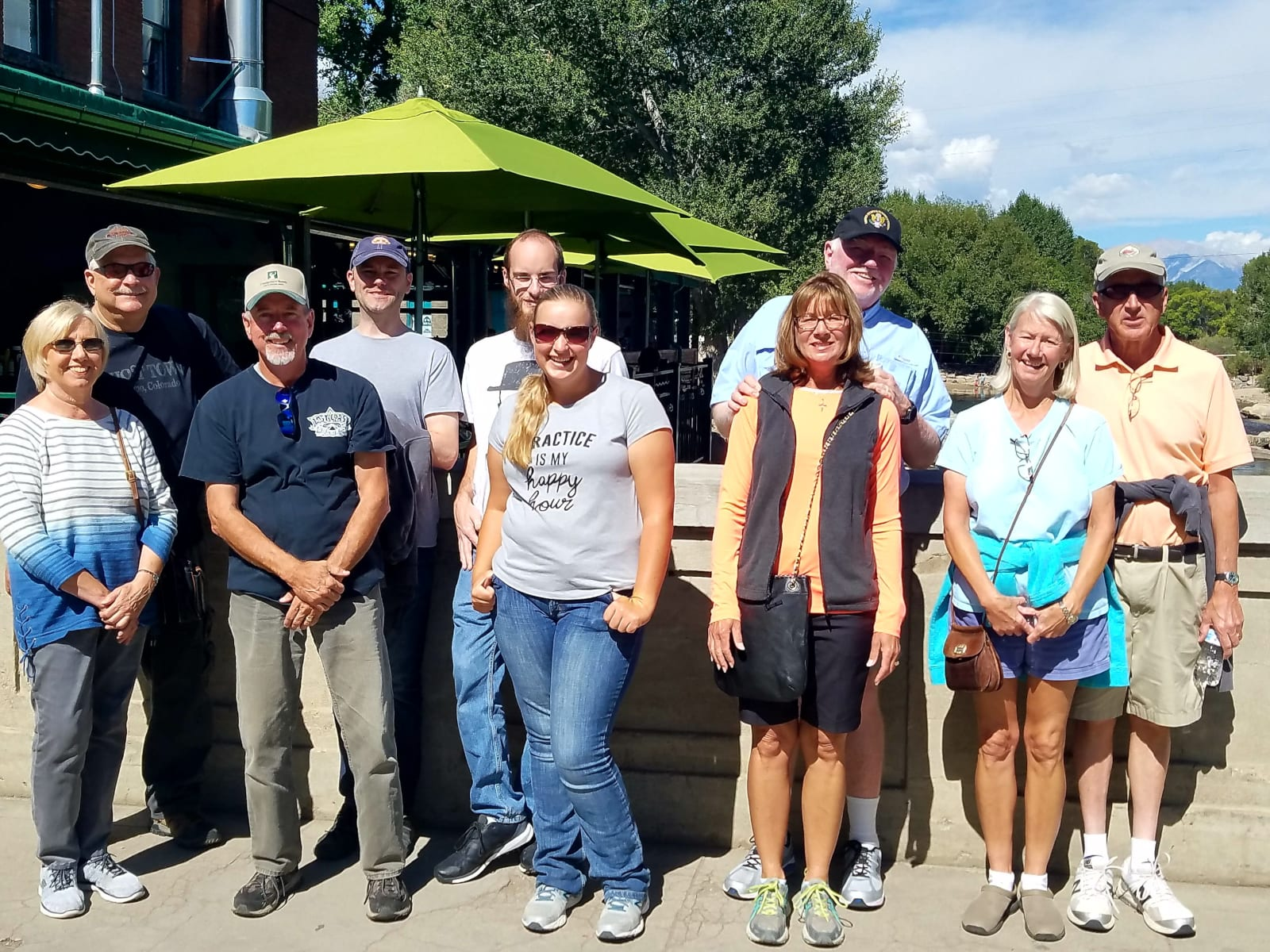 Salida Walking Tours Friendly Group Downtown