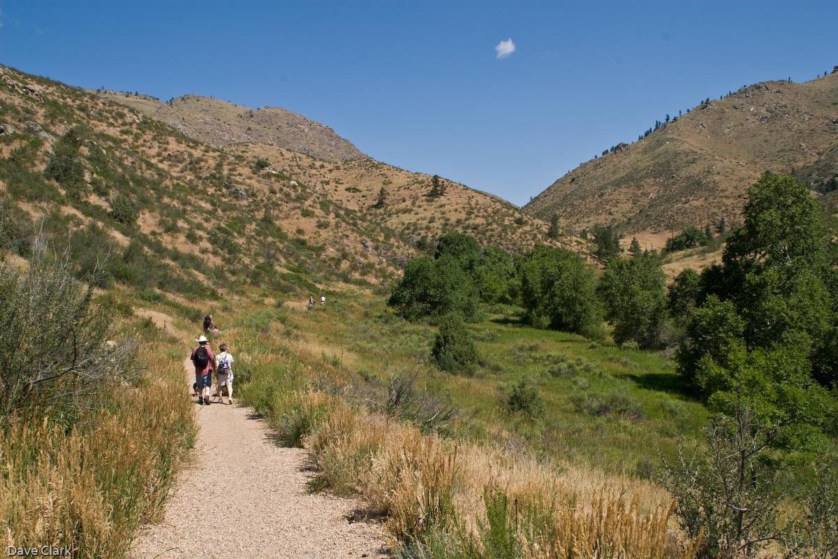 Hiking Fort Collins CO Cache La Poudre River Trail