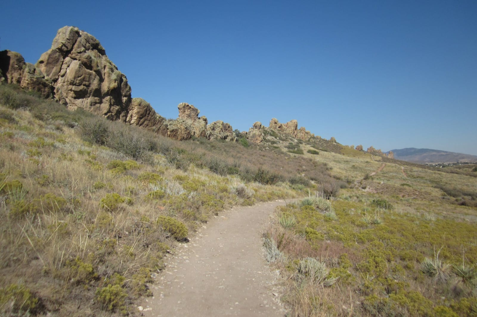 Hiking Fort Collins CO Devil's Backbone Trail