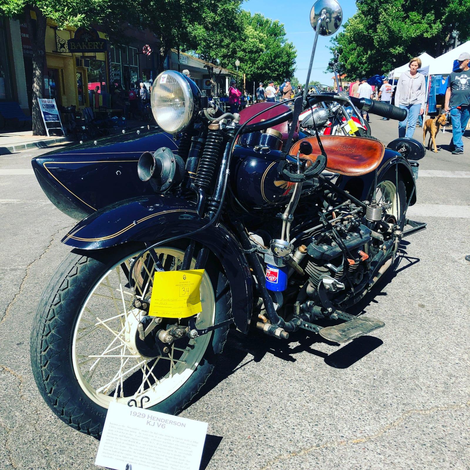Unknown Motorcycle Show Palisade CO Vintage Cruiser Bike