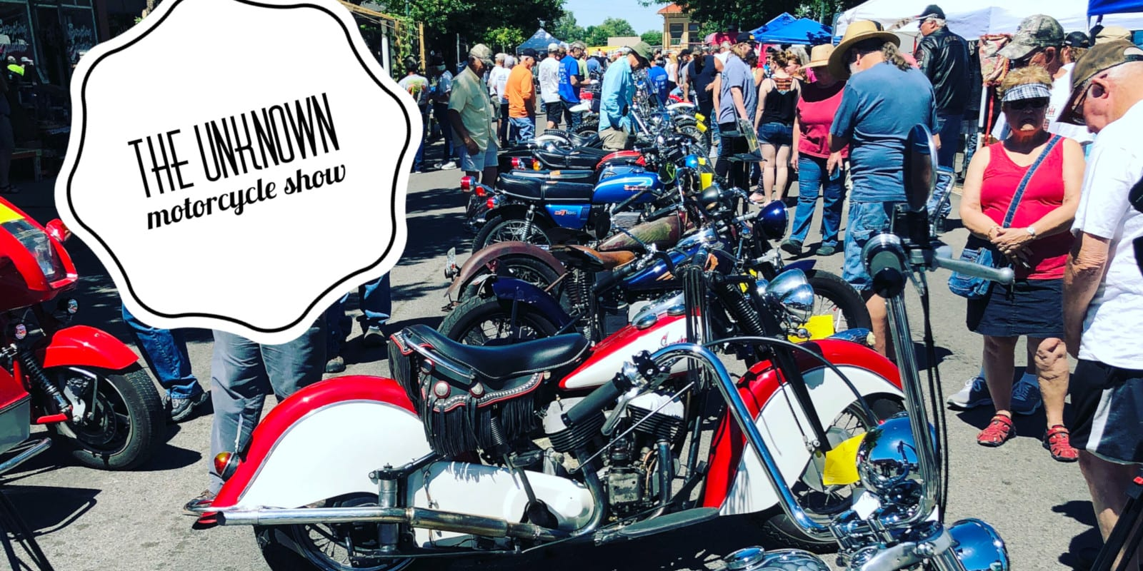 Unknown Motorcycle Show Palisade Western Colorado Vintage Motorcycles