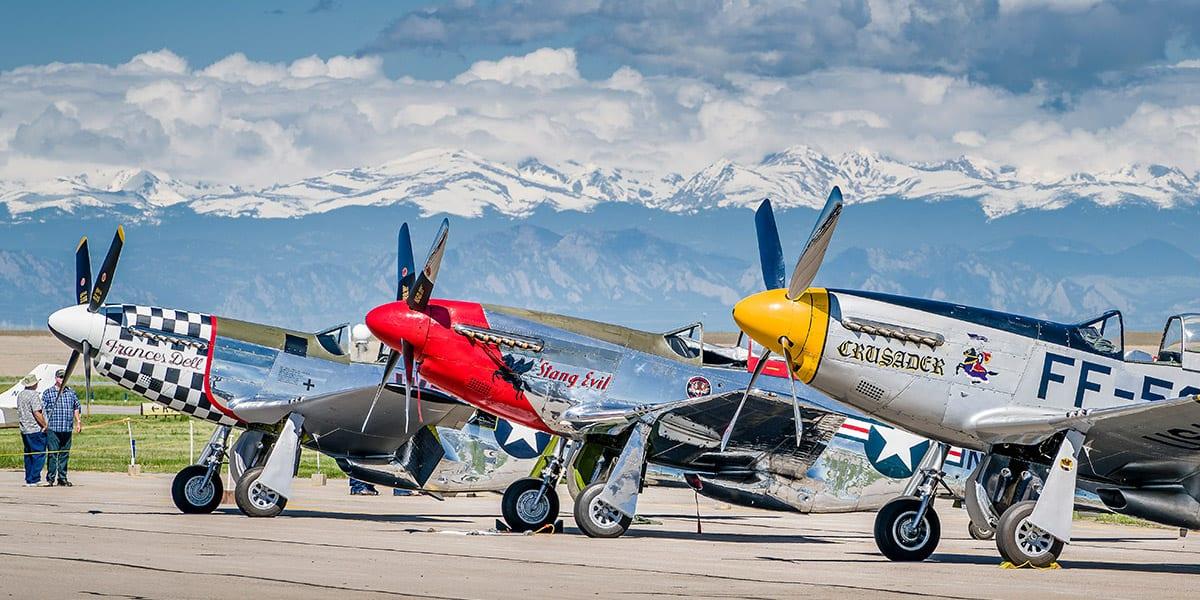 WarBird Auto Classic Colorado Mustangs