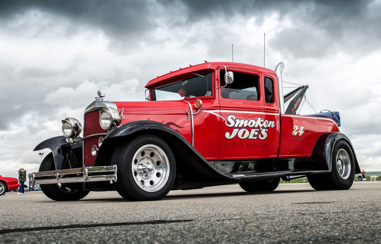 WarBird Auto Classic Watkins CO Vintage Tow Truck