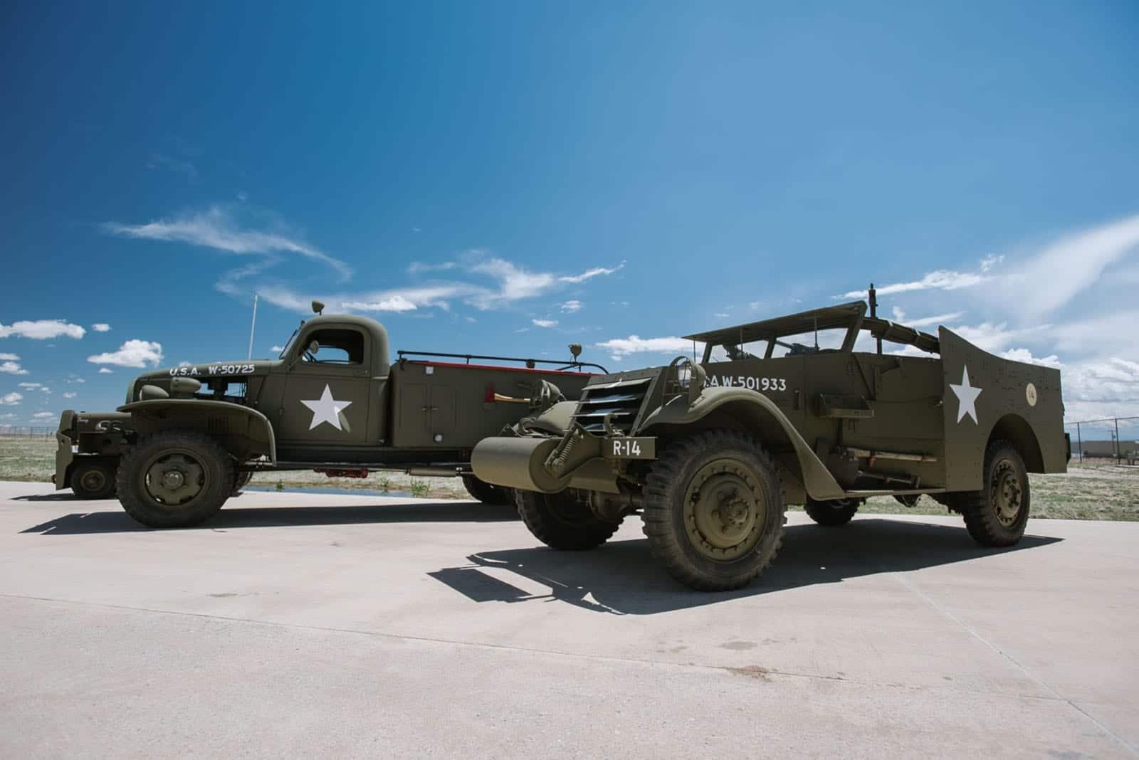 WarBird Auto Classic Watkins CO Military Show Cars