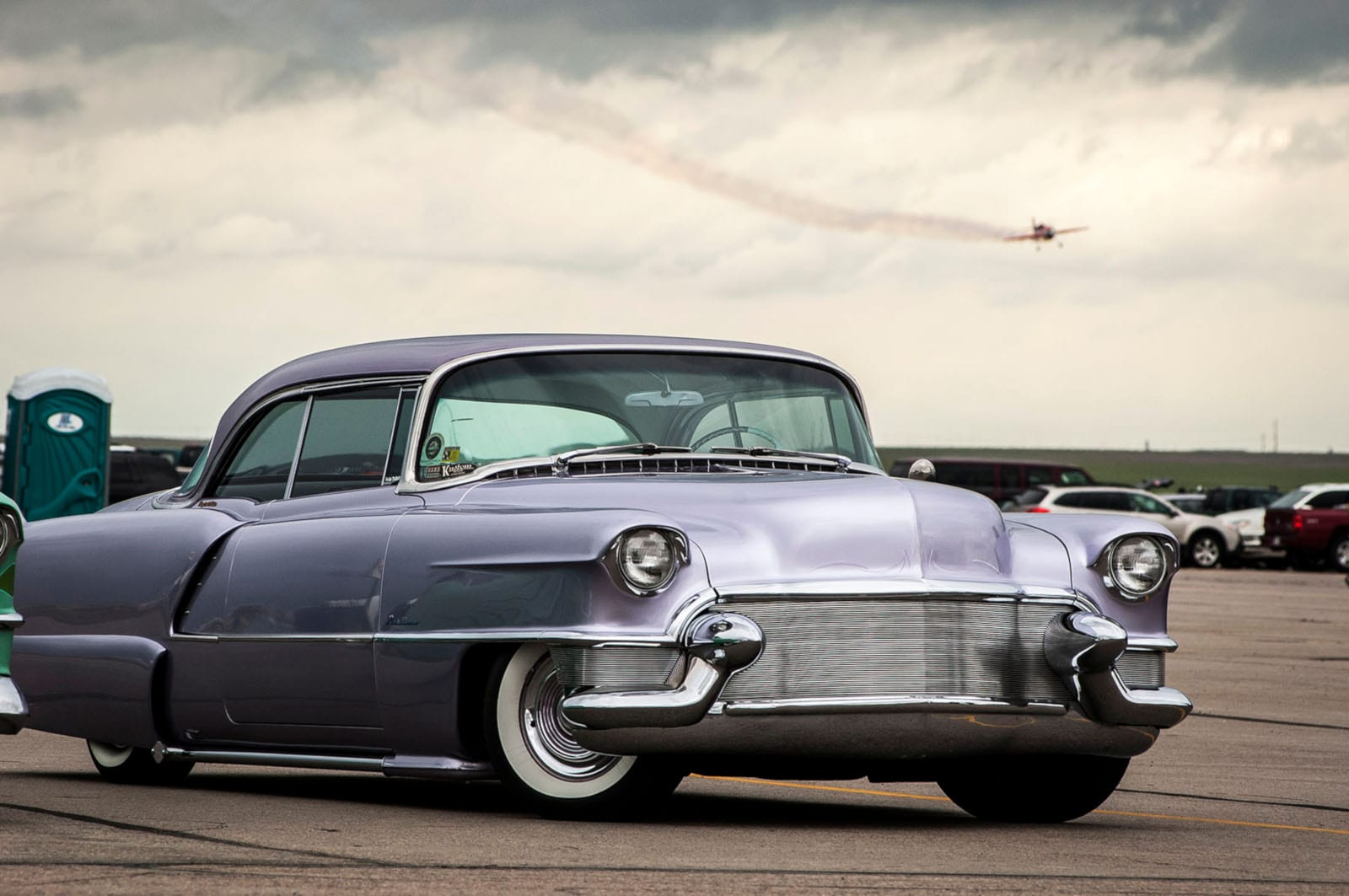 WarBird Auto Classic Watkins CO Purple Vintage Show Car