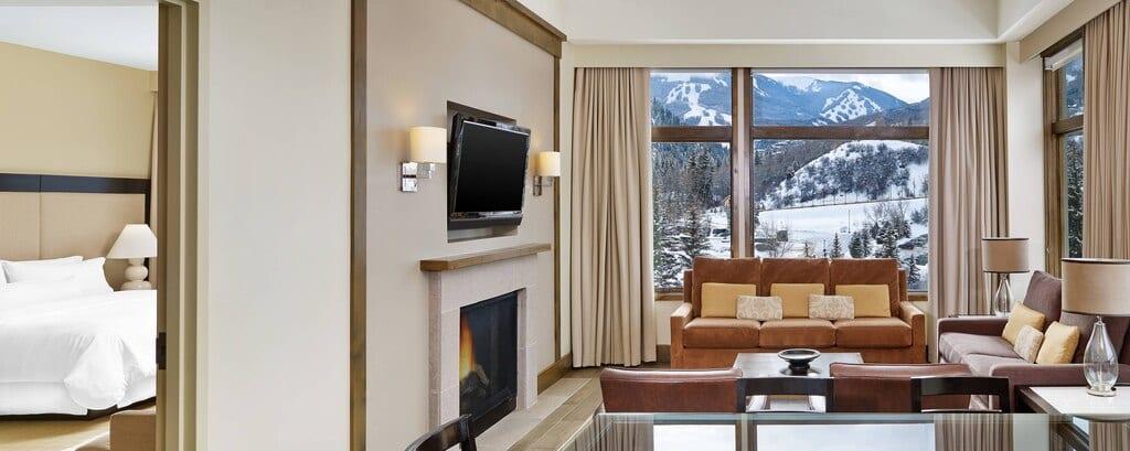 Westin Riverfront Resort Avon CO Suite Living Room