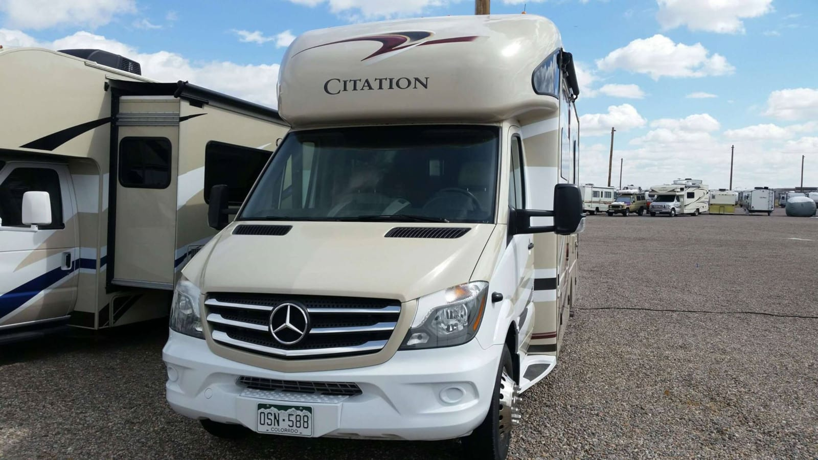 RV Rental Denver B&B 2018 Thor Citation 24ST