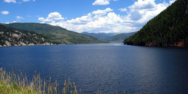 Basalt Colorado Ruedi Reservoir