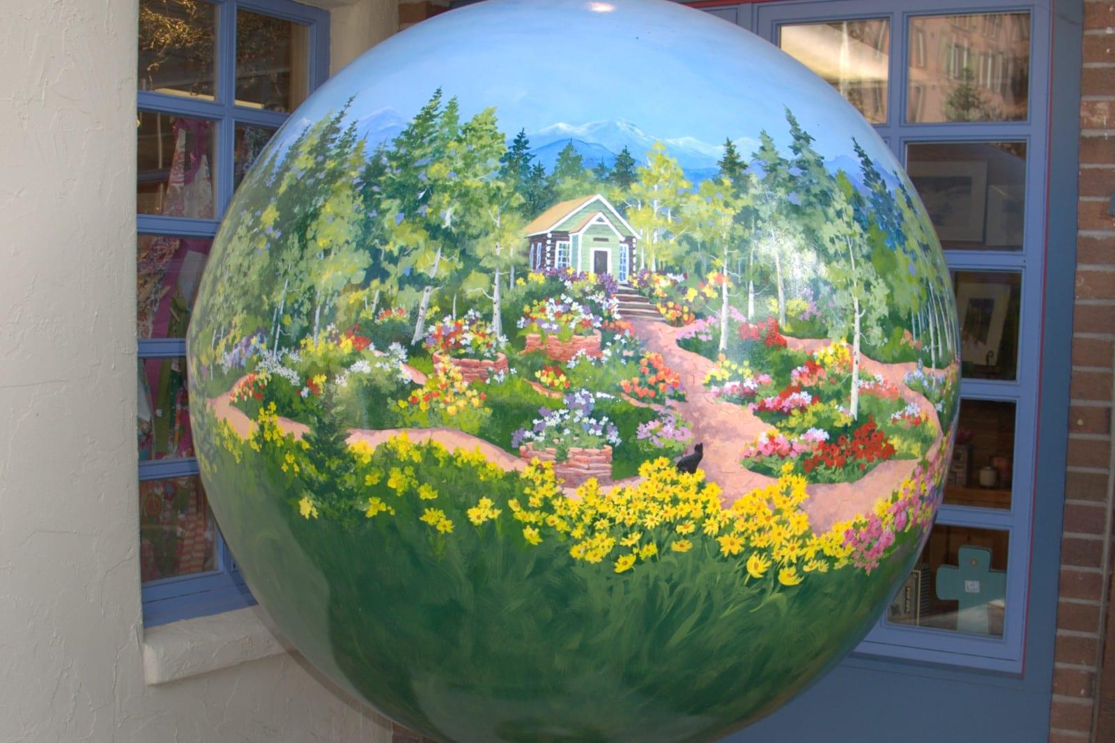 Betty Ford Alpine Gardens Vail Globe