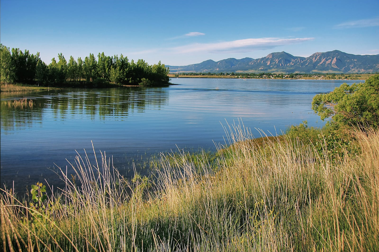 Boulder Reservoir Colorado Summer