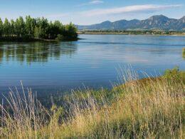 Boulder Reservoir Colorado Summer