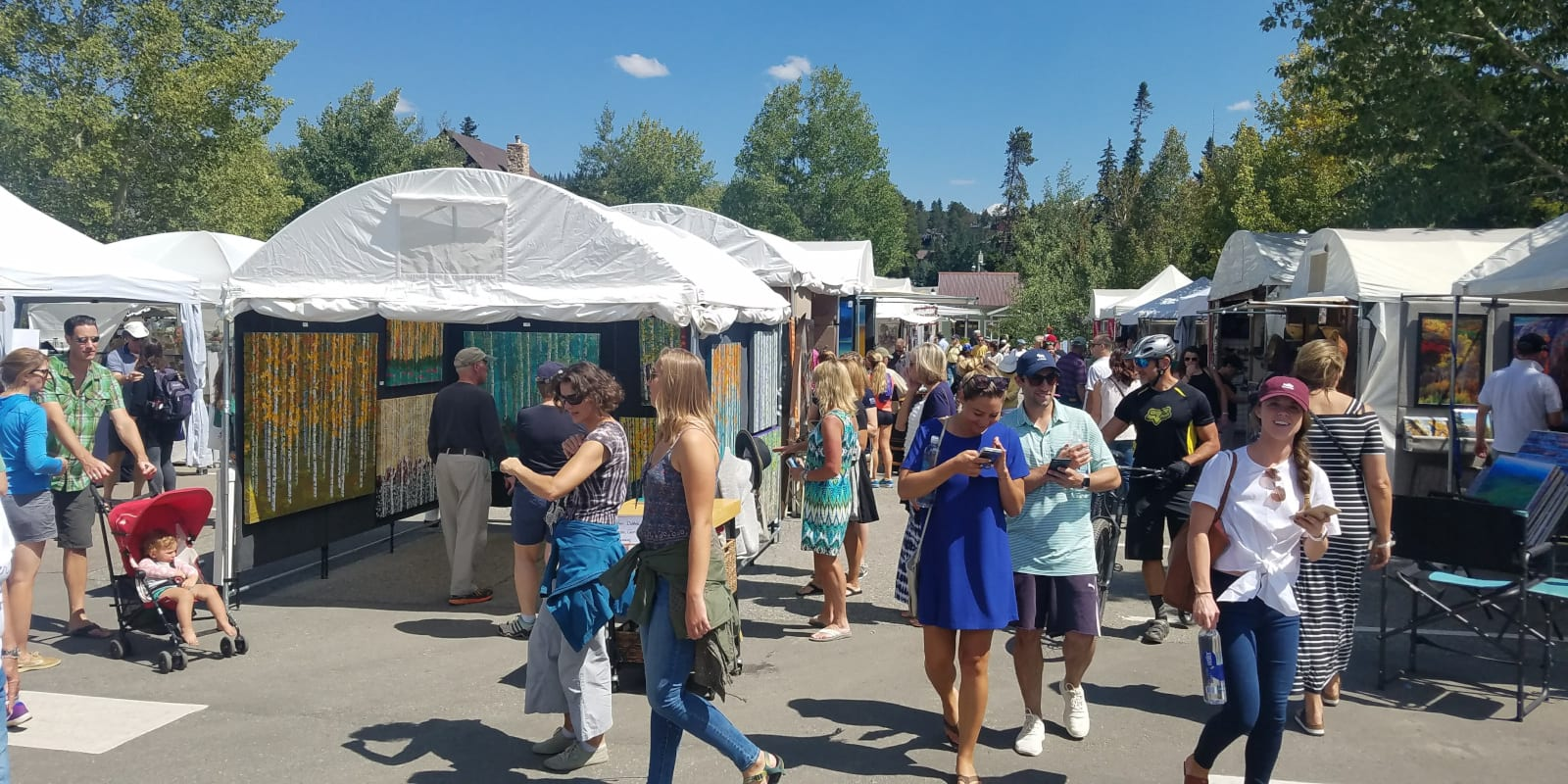 Breckenridge Gathering at the Great Divide Art Festival Colorado