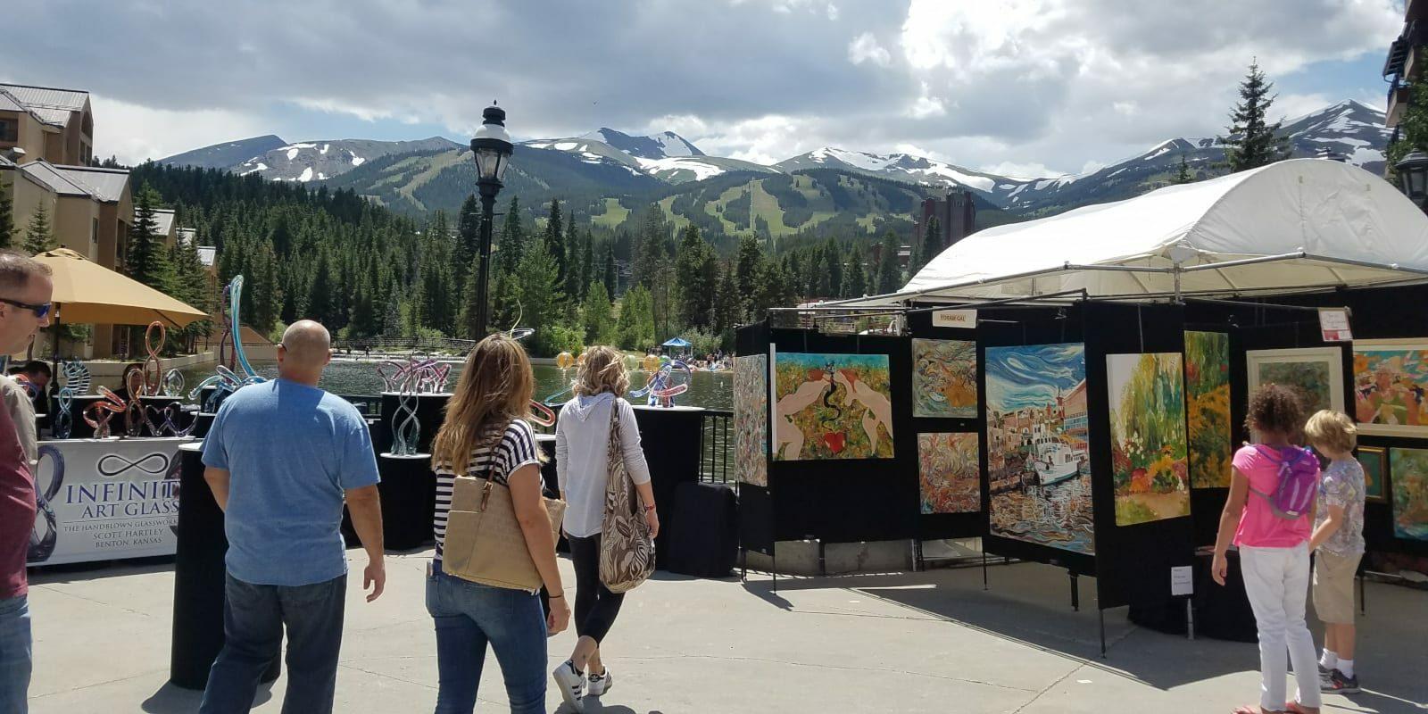 Breckenridge July Art Festival