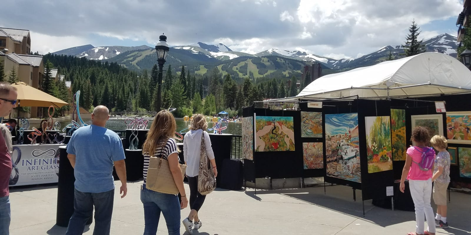 Breckenridge July Art Festival