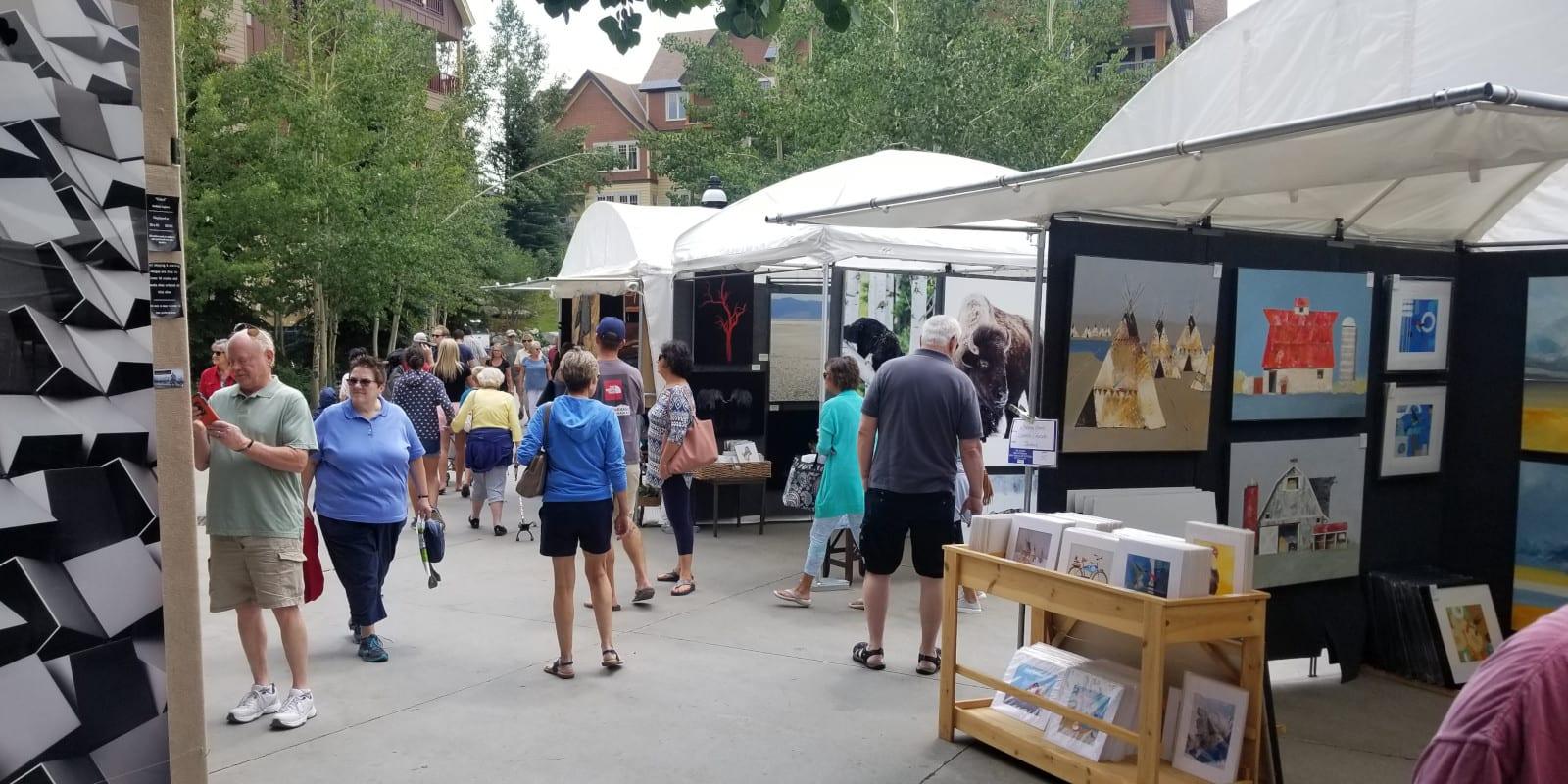 Breckenridge Main Street Art Festival